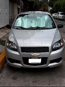 Foto venta Auto usado Chevrolet Aveo LS Aa (2014) color Gris precio $100,000