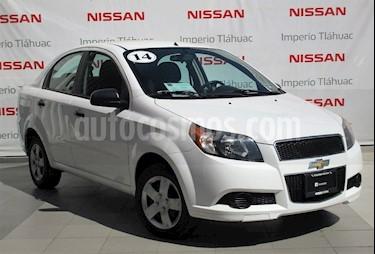 Foto venta Auto Usado Chevrolet Aveo LS Aa (2014) color Blanco precio $102,000