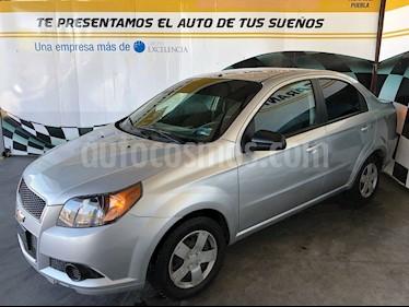 Foto venta Auto Seminuevo Chevrolet Aveo LS Aa (2016) color Plata precio $123,000