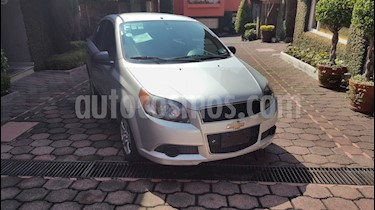 Foto venta Auto usado Chevrolet Aveo LS Aa (2014) color Plata precio $106,000