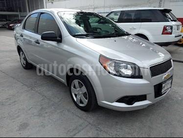 Foto venta Auto Seminuevo Chevrolet Aveo LS Aa (2013) color Plata precio $99,000