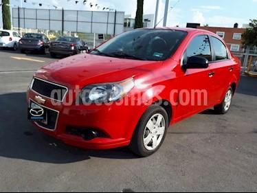 Foto venta Auto Seminuevo Chevrolet Aveo LS Aa (2015) color Rojo Victoria precio $130,000