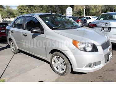 Foto venta Auto Seminuevo Chevrolet Aveo LS Aa (2013) color Plata precio $95,000