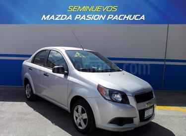 Foto venta Auto Seminuevo Chevrolet Aveo LS Aut (2014) color Plata Brillante precio $125,000