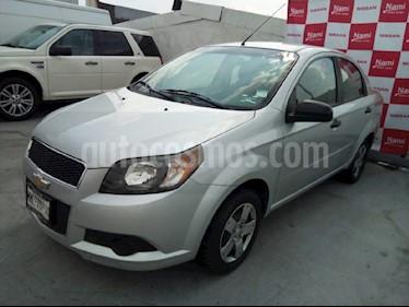Foto venta Auto Usado Chevrolet Aveo LS Aut (2013) color Plata precio $120,000