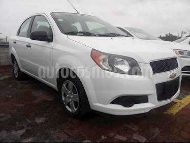 Foto venta Auto usado Chevrolet Aveo LS Aut (2016) color Blanco precio $125,000