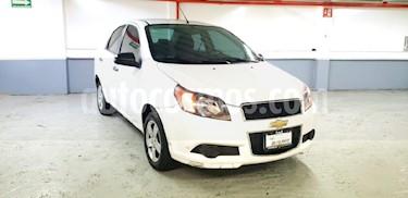 Foto venta Auto Seminuevo Chevrolet Aveo LS Aut (2015) color Blanco precio $129,000