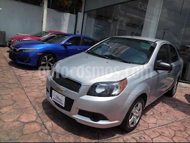 Foto venta Auto Seminuevo Chevrolet Aveo LS Aut (2016) color Plata Brillante precio $139,000