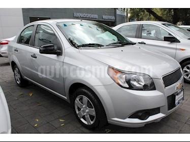 Foto venta Auto Seminuevo Chevrolet Aveo LS Aut (2016) color Plata precio $128,000