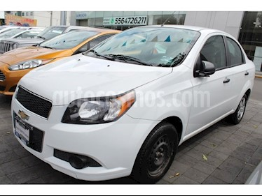 Foto venta Auto Seminuevo Chevrolet Aveo LS Aut (2016) color Blanco precio $128,000