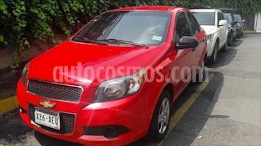 Foto venta Auto Seminuevo Chevrolet Aveo LS Aut (2016) color Rojo Victoria precio $145,000