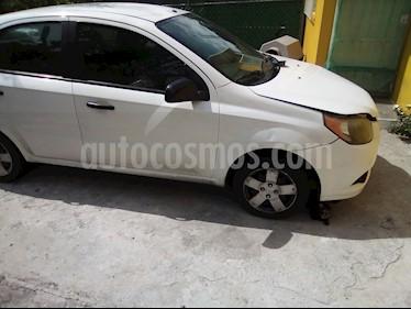 Foto venta Auto usado Chevrolet Aveo LS (2013) color Blanco precio $55,000