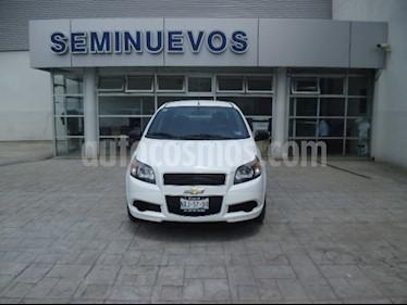 Foto venta Auto Usado Chevrolet Aveo LS (2017) color Blanco precio $148,000