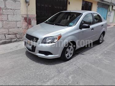 Foto venta Auto usado Chevrolet Aveo LS (2014) color Plata Brillante precio $96,000