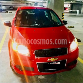 Foto venta Auto usado Chevrolet Aveo LS (2016) color Rojo precio $129,000