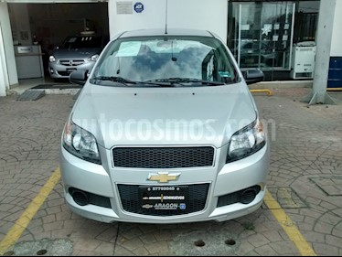 Foto venta Auto Seminuevo Chevrolet Aveo LS (2017) color Plata precio $155,000