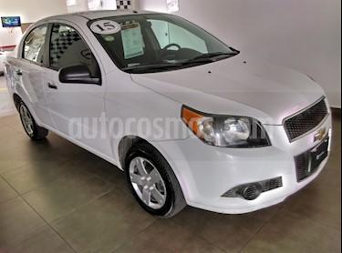 Foto venta Auto Seminuevo Chevrolet Aveo LS (2015) color Blanco precio $110,000