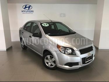 Foto venta Auto Seminuevo Chevrolet Aveo LS (2013) color Plata precio $109,000