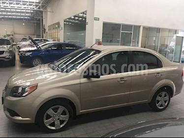 Foto venta Auto Usado Chevrolet Aveo LT Aut (2014) color Cafe precio $129,000