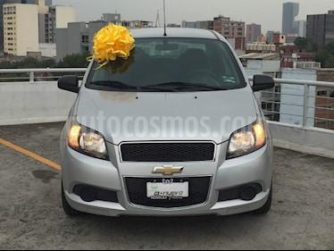 Foto venta Auto Usado Chevrolet Aveo LT Aut (2015) color Gris precio $122,500