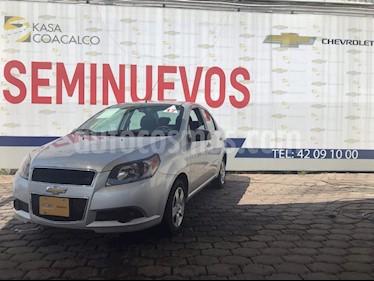 Foto venta Auto Seminuevo Chevrolet Aveo LT Aut (2017) color Plata precio $145,900