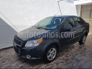 Foto venta Auto usado Chevrolet Aveo LT Bolsas de Aire y ABS (Nuevo) (2014) color Gris Oxford precio $115,000