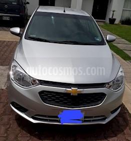 Foto venta Auto usado Chevrolet Aveo LT Bolsas de Aire y ABS (Nuevo) (2018) color Plata precio $175,000