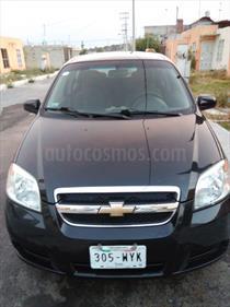 Foto venta Auto usado Chevrolet Aveo LT Bolsas de Aire y ABS Aut (Nuevo) (2010) color Negro Grafito precio $95,000