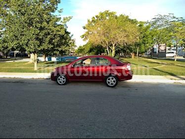 Foto venta Auto Seminuevo Chevrolet Aveo LT Bolsas de Aire y ABS Aut (Nuevo) (2009) color Rojo Tinto precio $75,000