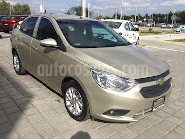 Foto venta Auto Seminuevo Chevrolet Aveo LT Bolsas de Aire y ABS Aut (Nuevo) (2018) color Champagne precio $205,000