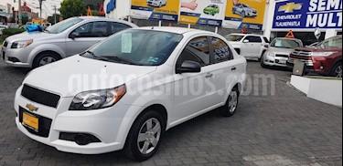 Foto venta Auto Seminuevo Chevrolet Aveo LT L4/1.6 Aut (2016) color Blanco precio $135,900