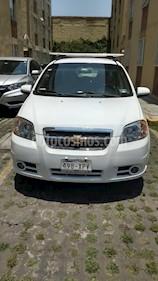 Foto venta Auto usado Chevrolet Aveo LT Plus (2011) color Blanco precio $80,000