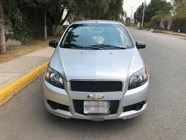 Foto venta Auto usado Chevrolet Aveo LT (2013) color Plata Brillante precio $93,000