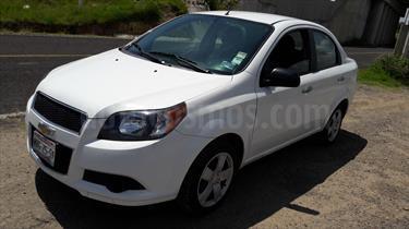 Foto venta Auto Usado Chevrolet Aveo LT (2015) color Blanco precio $129,000