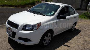 Foto venta Auto Seminuevo Chevrolet Aveo LT (2015) color Blanco precio $129,000