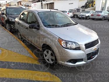 Foto venta Auto Seminuevo Chevrolet Aveo LT (2016) color Plata precio $140,000
