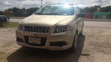 Foto venta Auto usado Chevrolet Aveo LT (2014) color Champagne precio $90,000