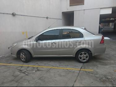Foto venta Auto usado Chevrolet Aveo LT (2012) color Plata precio $155.000