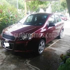 Foto venta Auto usado Chevrolet Aveo LT (2014) color Rojo Tinto precio $105,000