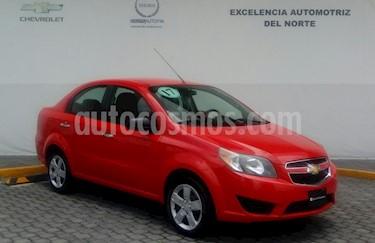 Foto venta Auto Usado Chevrolet Aveo LT (2017) color Rojo precio $165,000