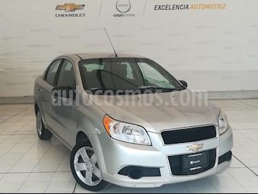 Foto venta Auto Usado Chevrolet Aveo LT (2012) color Plata precio $89,000