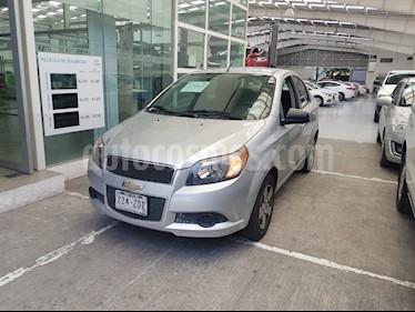 Foto venta Auto Usado Chevrolet Aveo LT (2013) color Plata precio $105,000