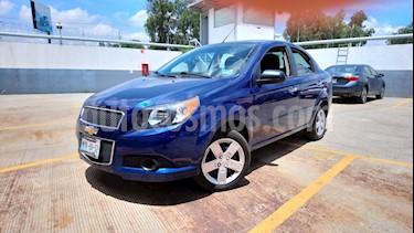 Foto venta Auto Usado Chevrolet Aveo LT (2016) color Azul precio $138,000
