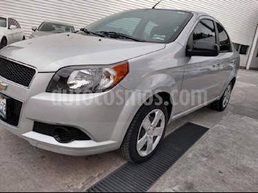 Foto venta Auto Seminuevo Chevrolet Aveo LT (2016) color Plata precio $139,000