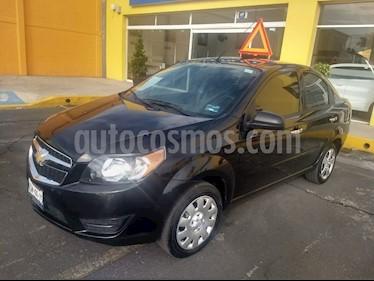 Foto venta Auto Seminuevo Chevrolet Aveo LT (2017) color Negro Grafito precio $160,000