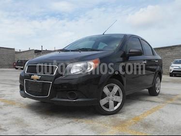 Foto venta Auto Seminuevo Chevrolet Aveo LT (2017) color Negro Grafito precio $145,000