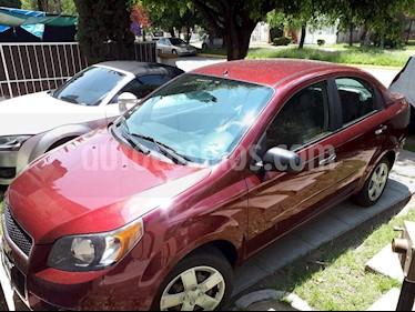Foto venta Auto usado Chevrolet Aveo LT (2013) color Rojo Tinto precio $98,000
