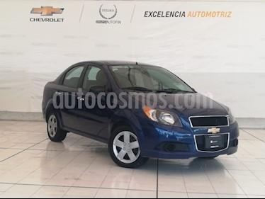 Foto venta Auto Seminuevo Chevrolet Aveo LT (2016) color Azul Oscuro precio $139,000