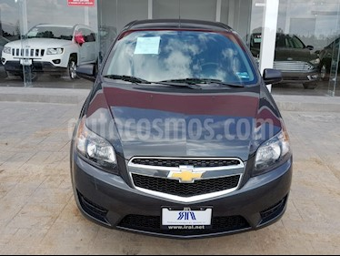 Foto venta Auto Seminuevo Chevrolet Aveo LT (2017) color Gris precio $140,000