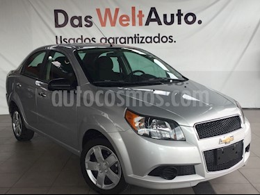 Foto venta Auto Seminuevo Chevrolet Aveo LT (2017) color Plata precio $165,000